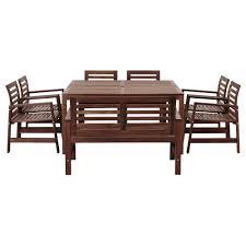 Ikea Applaro Outdoor Furniture  Eccleston  Pinterest  Backyard Outdoor Dining Furniture Ikea