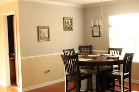 dining room paint ideas with chair rail at home design concept ideas