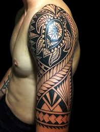 Tribal Tricep Tattoos