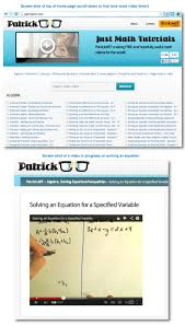 top math websites for parents and kids top 10 math website called patrick jmt