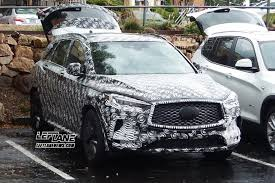 2018 infiniti vehicles. fine 2018 spied 2018 infiniti qx50 sheds camo shows its interior  leftlanenews and infiniti vehicles
