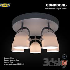 3d models ceiling light svirvel ceiling spotlight
