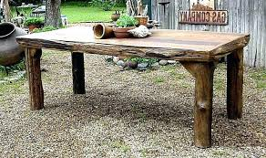 Rustic wood furniture ideas Build Your Own Diy Rustic Wood Dining Table Making Rustic Wood Furniture Making Farmhouse With Fascinating Outdoor Dining The Diningroom Diy Rustic Wood Dining Table The Diningroom