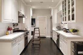 Hilarious White Galley Kitchen Remodel