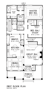 first floor plan of the amelia house number 1360 d now available craftsman bungalow 1360 d houseplansblog