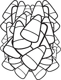 candy corn coloring page.  Coloring FREE Printable Candy Corn Coloring Page For Kids Inside G