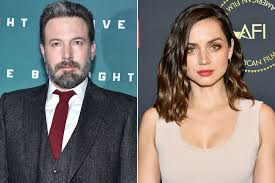 The actress ana de armas has been plastered all over headlines recently—and not because she's one of the most talented rising stars in hollywood. Ben Affleck Ana De Armas Take Romantic Trip They Re Dating People Com