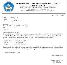 Contoh surat undangan acara pekan olahraga dan seni f. 16 Contoh Surat Dinas Sekolah Pemerintah Undangan Contoh Surat