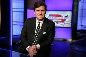 Tucker Carlson spins a web of ...