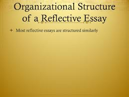 cultural criticism sb and ppt organizational structure of a reflective essay