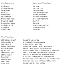 transitional words for essays best images of worksheets view larger
