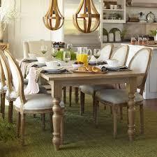 turned leg dining table. Natural Whitewash Turned Leg Dining Tables (from $330) Table