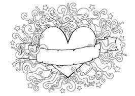 Kleurplaat Valentijn