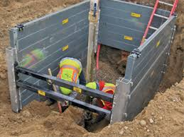 Image result for unique about aluminum trench boxes is that they are easy to pack
