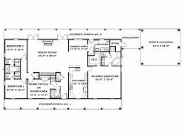 fresh various four bedroom one story house plans one story bedroom house plans eplans ranch plan
