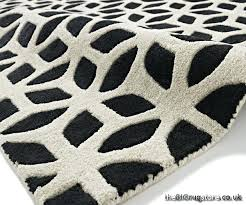 black and cream rugs fusion black cream rug larger image black and cream kitchen rugs