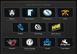 dota 2 the international invited teams and regional qualifiers