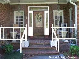 barbs brick porch front porch decorating ideas front porch design