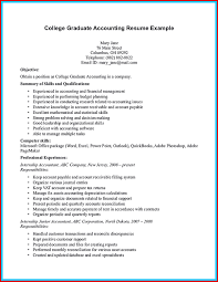 Beautiful Accounting Student Resume Wing Scuisine