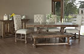 rustic dining room chairs. Simple Chairs Marquez Rustic Dining Room Set With Upholstered Chairs  Intended I