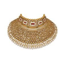 Gold Polki Necklace Designs Handmade Bridal Gold Jewellery Designs Indian Polki