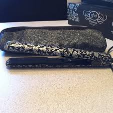 ghd limited edition black and silver iv styler