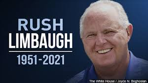 America Mourns the Loss of Legendary Radio Host and Patriot Rush Limbaugh