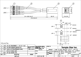 temple star inc professional contract manufacturer of itu t ccitt Rj45 To Bnc Wiring Diagram our 5,4,6,3) dual bnc male 75 ohm with 6\