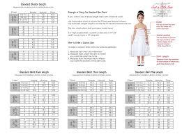 Tutu Dress Size Chart Tutu Dress Size Chart By Justalittlesassshop On Etsy Tutu