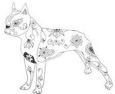 Small Picture how to draw a boston terrier step 10 Drawing Painting