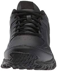 reebok black ridgerider leather sneaker for men lyst