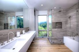 luxury shower luxury bathroom with shower with window views and porcelain tile luxury shower heads australia