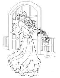 Adult Barbie Coloring Picture Barbie Coloring Pages Online Barbie