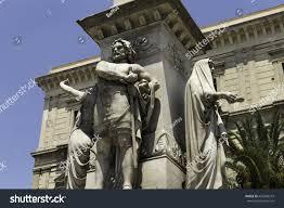 Piazza Stesicoro Catania Vincenzo Bellini Monument Stock ...