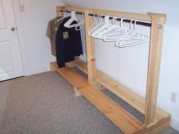interior wardrobe racks how to build a clothes rack 2017 design diy clothing comfortable with