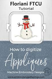 How To Digitize Applique Designs Learn To Digitize An Applique With Floriani Ftcu Floriani