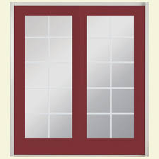 patio sliding glass doors  in x  in red bluff prehung left hand inswing  lite