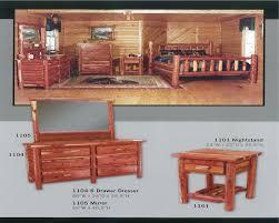 Log Bedroom Furniture Sets Cedar Bedroom Furniture
