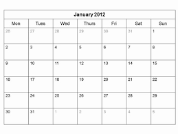 Monthly Calendar Vector At Getdrawings Com Free For Personal Use