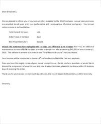 raise salary letter salary increase letter template from employer to employee letters font