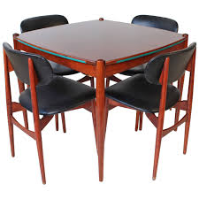 italian midcentury modern game table by gio ponti from a unique collection of antique and modern game tables at table t18