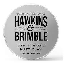 hawkins brimble matt clay pomade 100ml lookfantastic