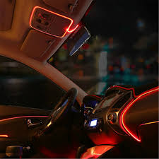 diy ambient lighting. jingxiangfeng 1m car lights driving ambient light el cold line diy decorative dashboard with 12v cigarette diy lighting