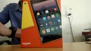 Đập hộp máy tính bảng Amazon Fire HD 8 16Gb - 1.689.000₫ - Lazada.vn -  YouTube