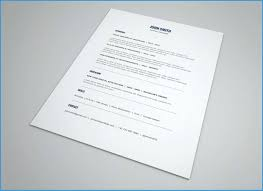 Minimalist Resume Template Word Free Fabulous Minimalist Resume