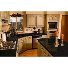 granite countertop sample in black pearl