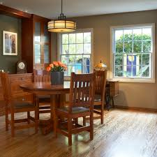 table in wall dining room craftsman with decor buffet