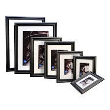 kenro ravello 10x12 mount 8x6 black photo frame pack 1