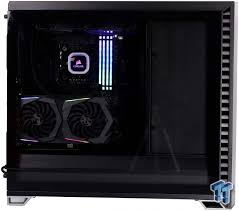 Fractal Design Meshify S2 Amazon Fractal Design Vector Rs Blackout Light Tg Mid Tower