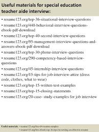 Objective For Resume Teacher Aide